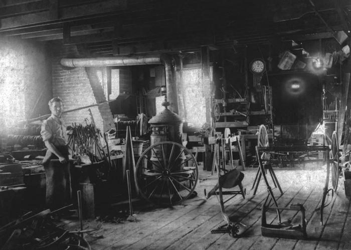 Rasmussen Blacksmith Shop